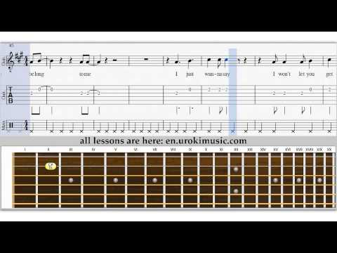 Bryan Adams - You Belong To Me - How To Play Melody on ...