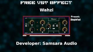 Free VST Effect - Wahzi