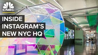 Instagram's NYC HQ Serves Free Booze And Gelato