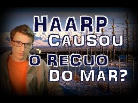 HAARP causou o recuo do mar no Atlântico Sul?