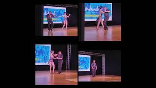 Dana Hathaitham & David Herrera ballroom rumba / bachata show @ 5th annual Miami Bachateando 4/16/21