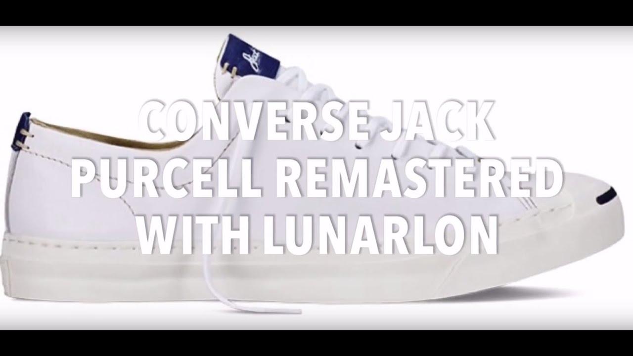 85e15e71d25952 CONVERSE JACK PURCELL REMASTERED WITH LUNARLON
