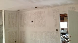 Drywall FINISHING San Mateo County CA   Knockdown, Skip Trowel, Orange Peel, Smooth Wall