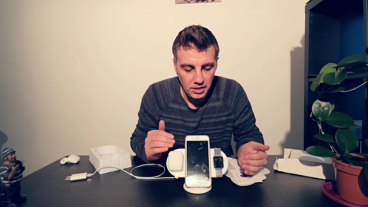 Vinpok Plux incarcator wireless cel mai bun pentru Iphone si apple watch?