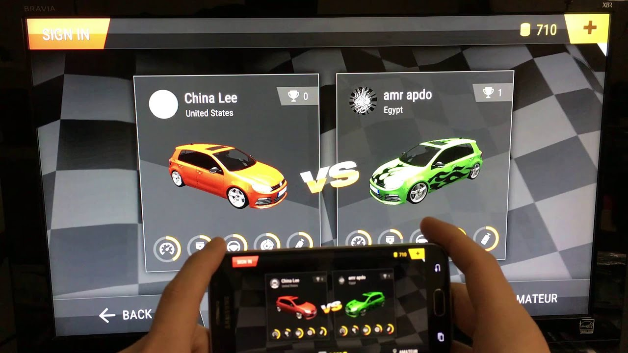 Galaxy S6 & ChromeCast 2nd Gen.- How to Screen Mirror & Play Games on TV - YouTube