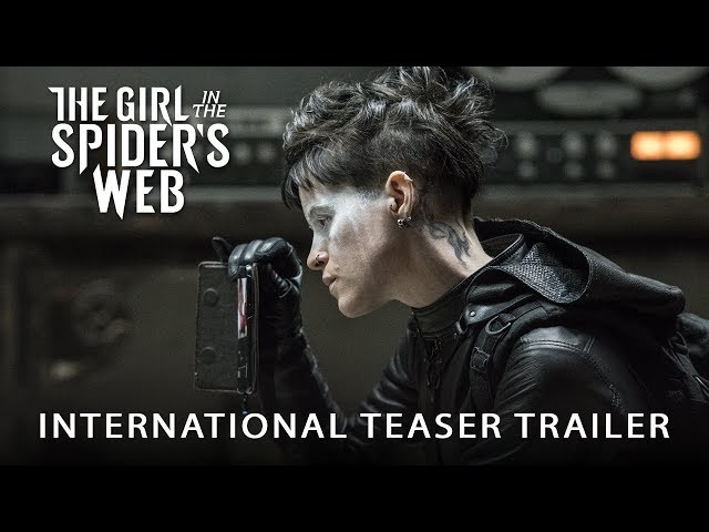 THE GIRL IN THE SPIDER'S WEB - International Teaser Trailer