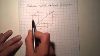 Rekenen met de verlengde Pythagoras