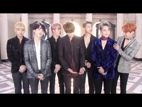 BTS WINGS NAVER Music Greeting Video