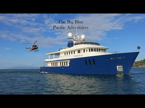 The Big Blue Pacific Adventures