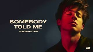 Video Charlie Puth - Somebody Told Me [Official Audio] download MP3, 3GP, MP4, WEBM, AVI, FLV Agustus 2018