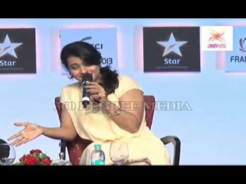 Kajol Says that she see lots of her Dad, Specially she sitting & Lough with Kids- FICCI Frames 2013
