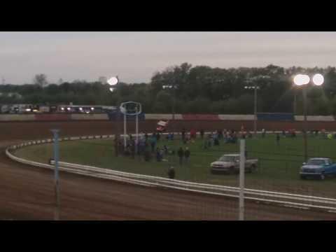 Brock Zearfoss Qualifying  Terre Haute Action Track