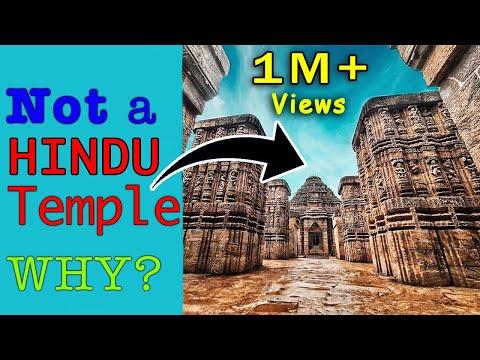 Konark Sun Temple Is NOT A Hindu Temple