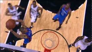 Kevin durant to russell westbrook alley-oop