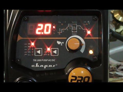 Сварог PRO TIG 200 P DSP AC/DC (E201) Анбоксинг. Мини обзор. Микротест на  нерже и  алюминии.