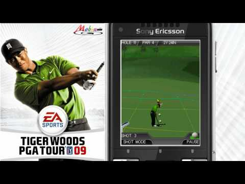 [HD] EA Mobile 3D Tiger Woods PGA Tour 09 Java Game