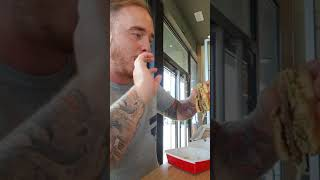 Three bite Big Mac challenge. EASY!!!!!
