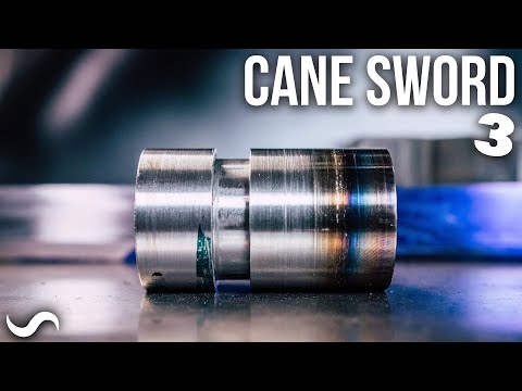 MAKING A CANE SWORD!!! Part 3