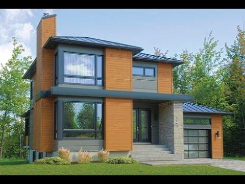 Planos de casas de dos pisos con medidas y fachadas youtube for Planos de casas con medidas