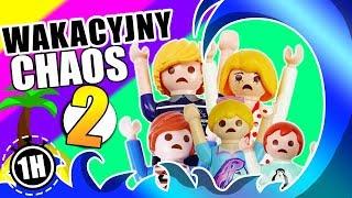 Playmobil Film polski WAKACYJNY CHAOS 2 - film! KŁOPOTY Z JULIANEM, HANIĄ i EMMĄ | Wróblewscy