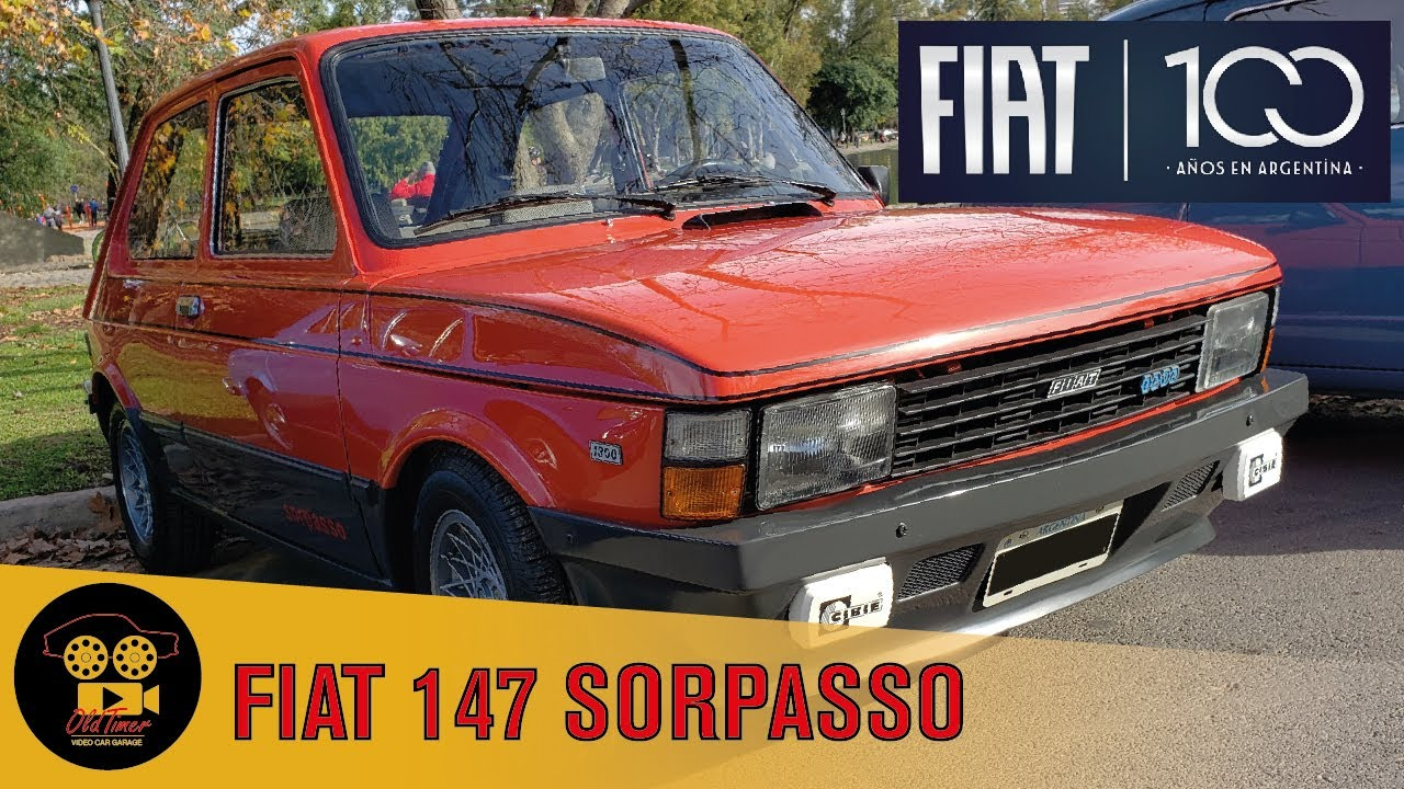 Fiat 147 Sorpasso Iava Caravana 100 Anos Fiat Argentina