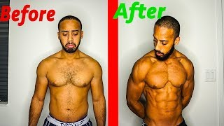Amazing intermittent fasting transformation | What I did exactly (2018)