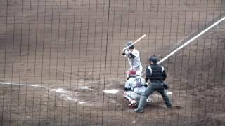 内野手 172センチ68キロ 右・左 主将 相手投手は、上武大・寺沢 星耶(2...