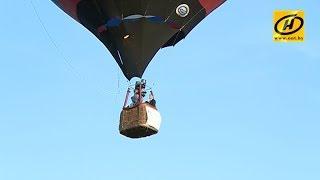 Контуры в небе  Minsk 950th Anniversary Balloon Cup