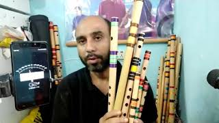 9 bansuri ready for mr. Mohammad Bilal ji from Dubai, Ajmal