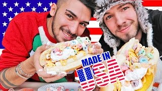 MADE IN USA CHALLENGE 🇺🇸 | Matt & Bise
