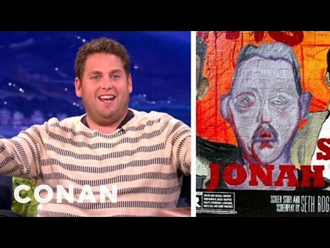 Jonah Hill Is Weirded Out By James Franco's Mural