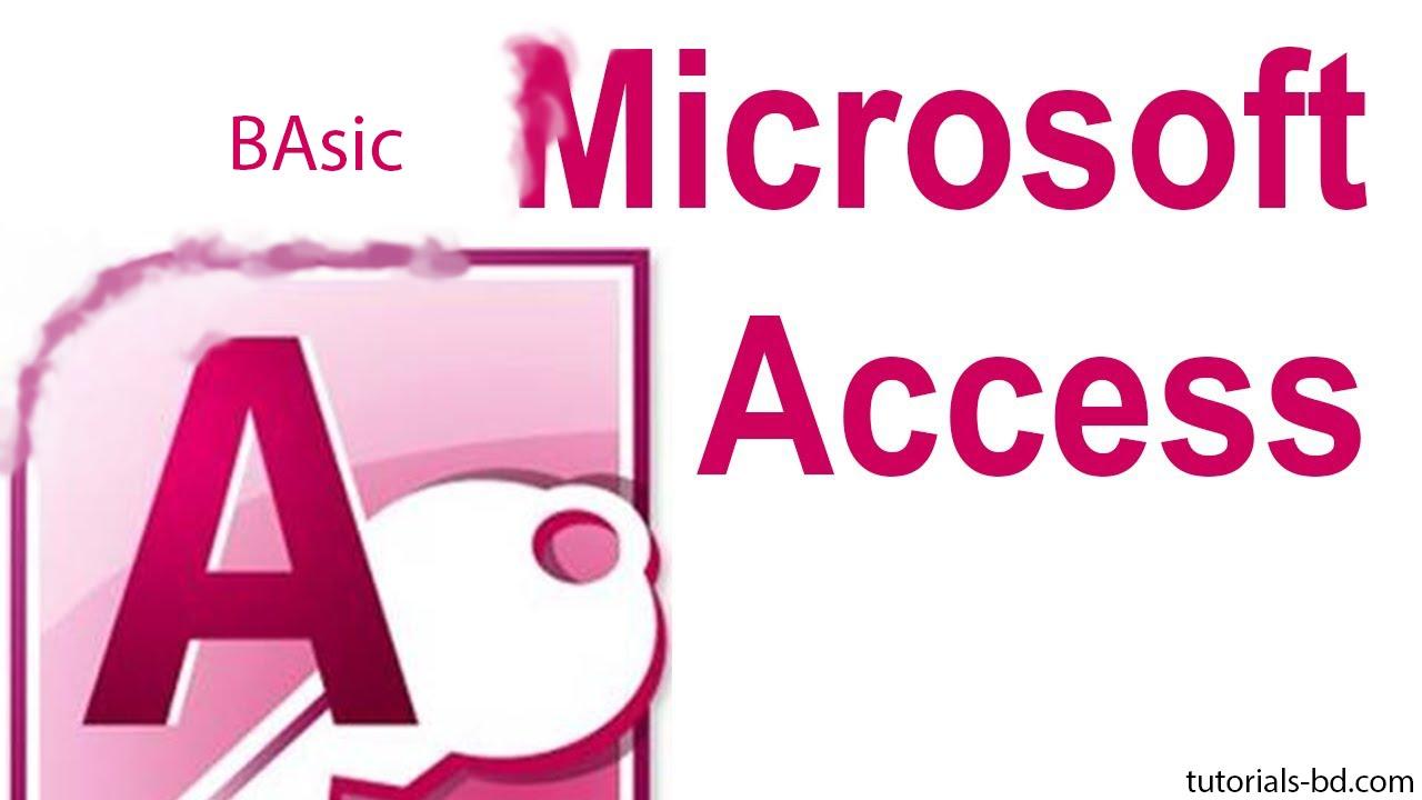 Ms Access 2007 Pdf