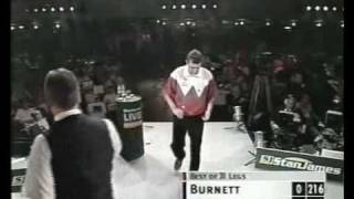 Rod Harrington vs Richie Burnett 2000 World Matchplay Quarter Finals Part 1