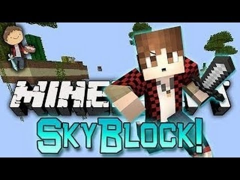 Minecraft: SkyBlock Warriors Fun Battles! w/Bajan Canadian & Friends!