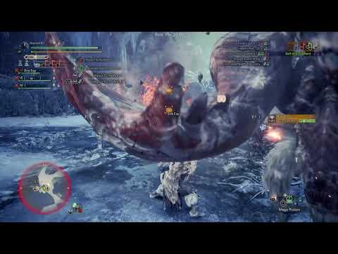 Monster Hunter World: Iceborne Beta HH Gameplay |