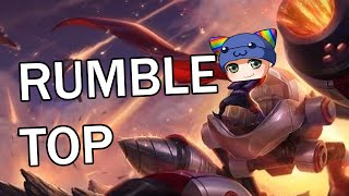 League of Legends - Rumble Top - Full Gameplay Commentary