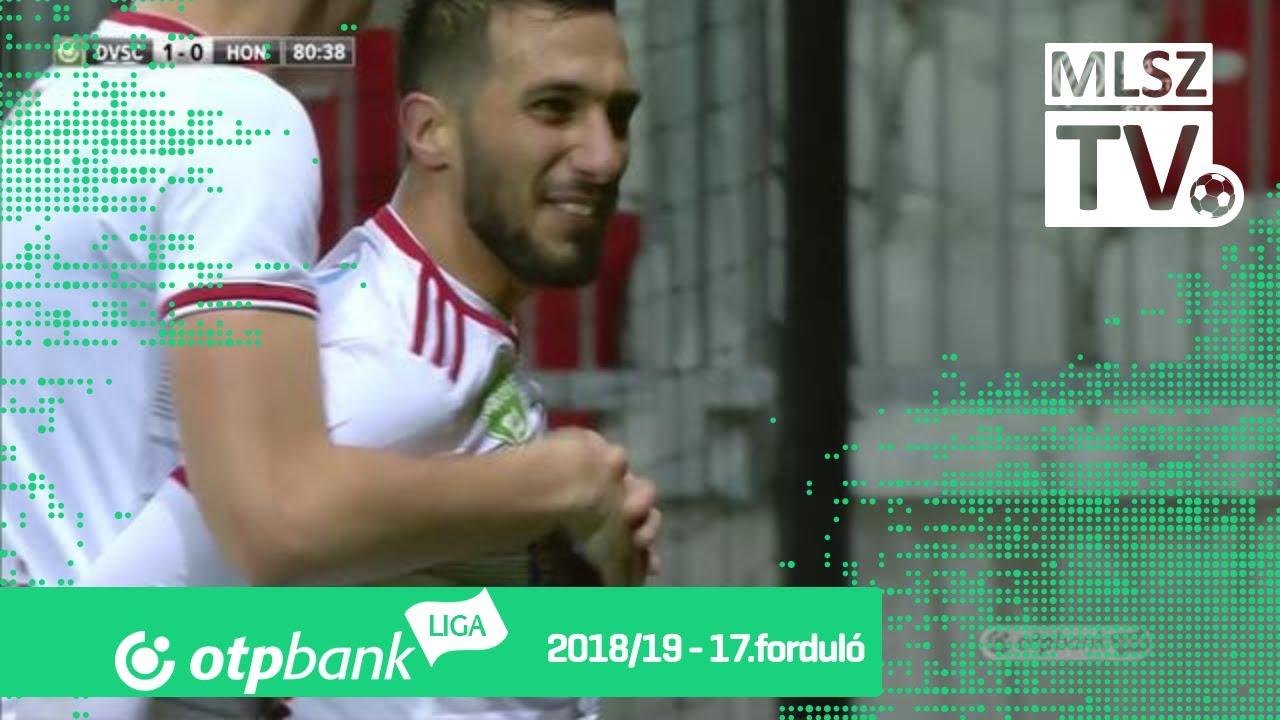 Szécsi Márk gólja a DVSC – Budapest Honvéd mérkőzésen