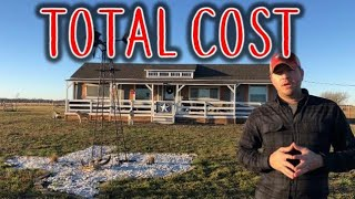 Shed To House - Total Cost - w/brothers Jared & Jason