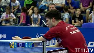 Dimitrij ovtcharov vs timo boll | final 2 - champions league 2017/2018