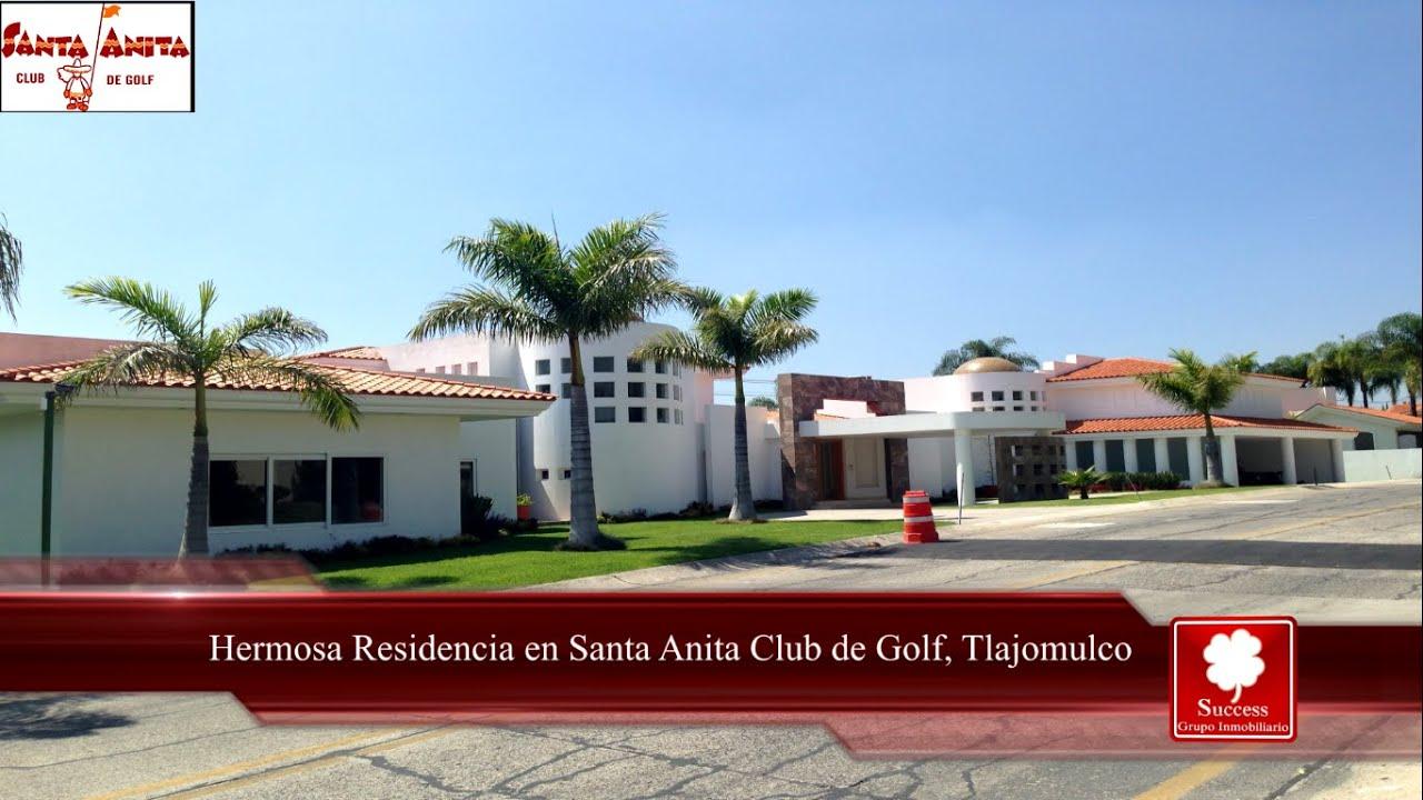 Hermosa Residencia En Venta En Club De Golf Santa Anita