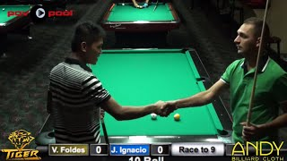 Jeffrey Ignacio vs Vilmos Foldes / 2015 Hard Times 10 Ball Open