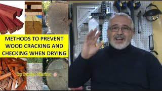 Wood Contraction And Check And Cracking Prevention