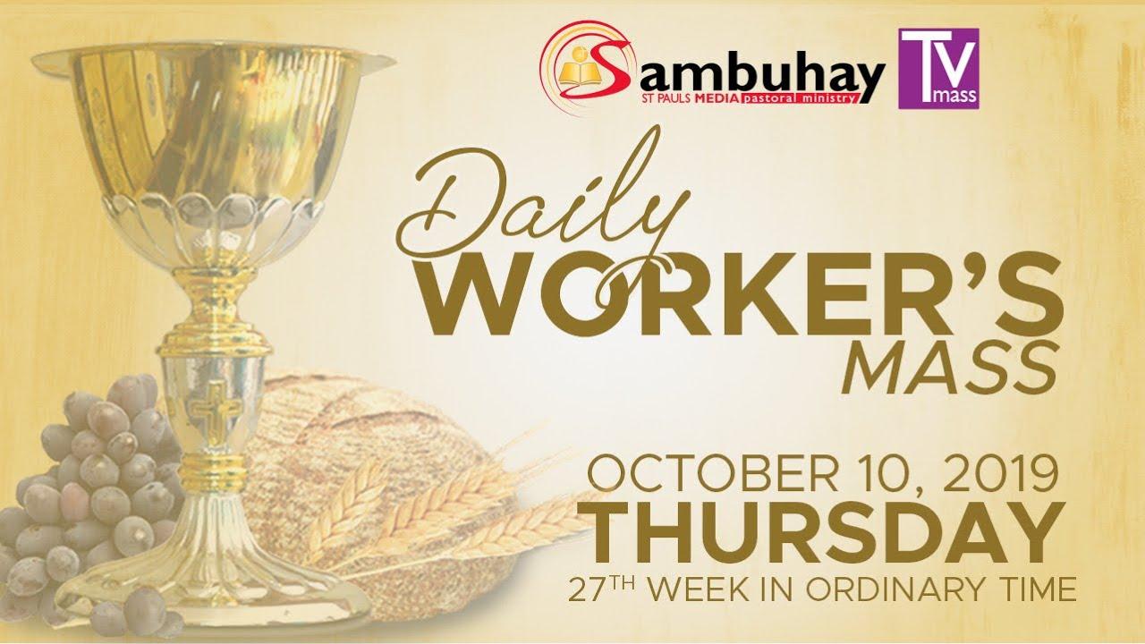 Sambuhay TV Mass | October 10, 2019
