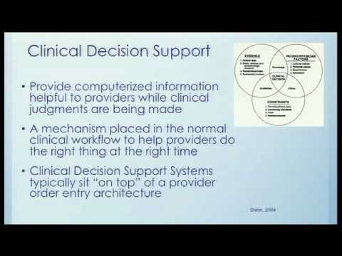 An Example of Clinical Decision Support at the VHA Order