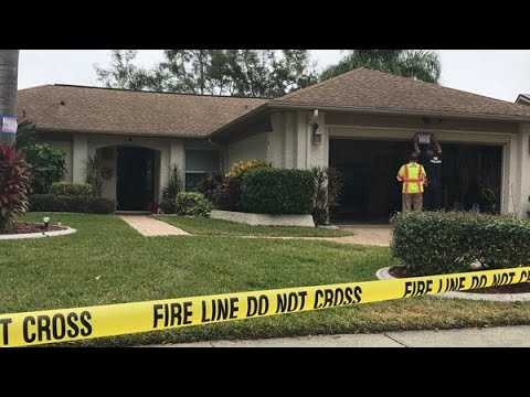 Authorities say Palm Harbor home impacted by possible sinkhole is unlivable