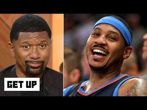 Carmelo Anthony is being blackballed in the NBA – Jalen Rose | Get Up
