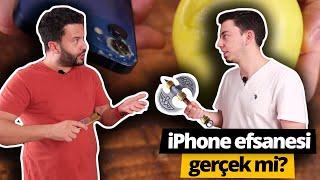 iPhone 12 kullanırken el mi kesiyor? Denedik!