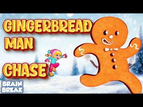 Gingerbread Man Chase! - Christmas PE Game