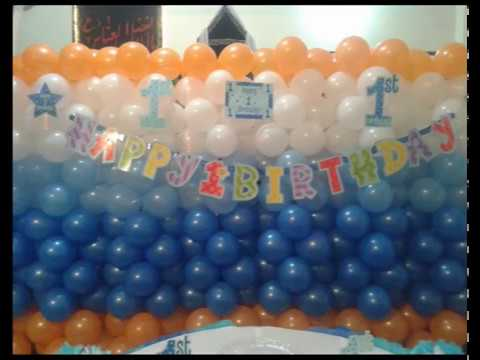 Birthday Party Decoration in Karachi YouTube