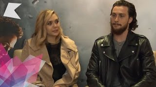 Aaron taylor-johnson & elizabeth olsen talk about playing quicksilver and scarlet witch in avengers: age of ultronsubscribe to our channel: http://bit.ly/sub...